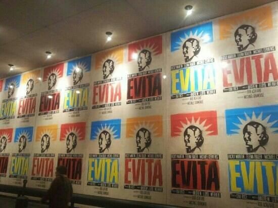 Marquis Theatre: Evita musical