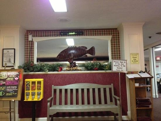 Pier 41 Seafood: entrance