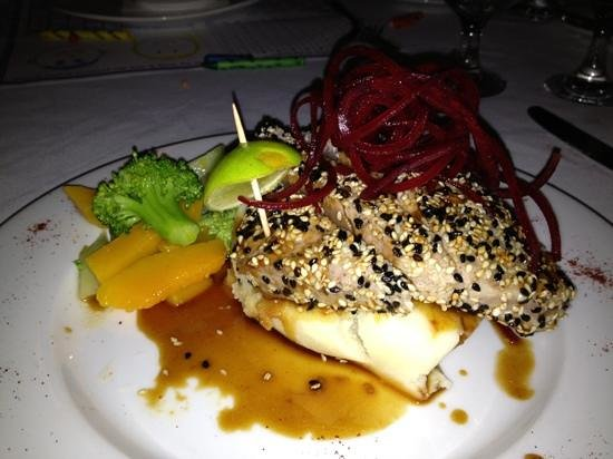 The Beach House Restaurant : Seared Tuna
