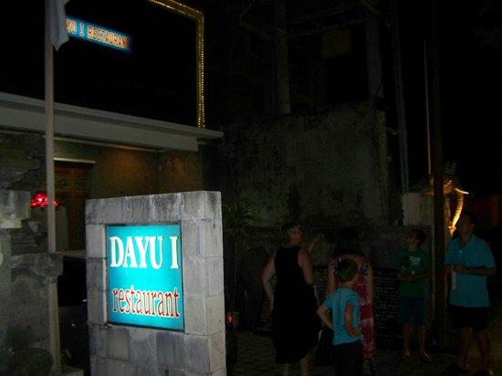 Dayu I Restaurant: Dayu1