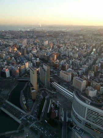 Yokohama Royal Park Hotel: vista de habitación