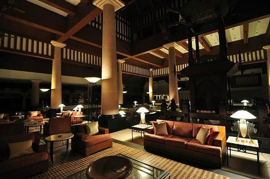The Andaman, A Luxury Collection Resort:                   lobby night