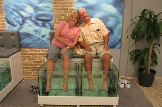 Athens Doctor Fish - Foot Therapy & Day Spa: rejunvinated and happy