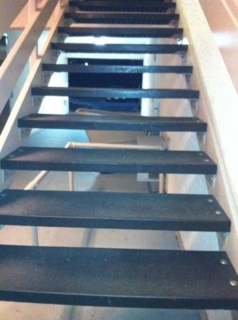 Red Roof Inn Washington DC - Columbia / Fort Meade: New plastic stairs