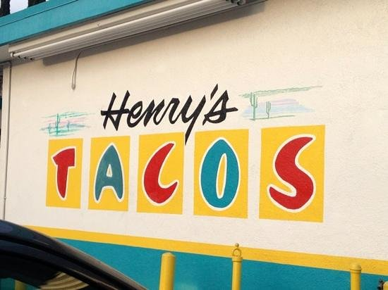 Henry's Tacos : Love the style!
