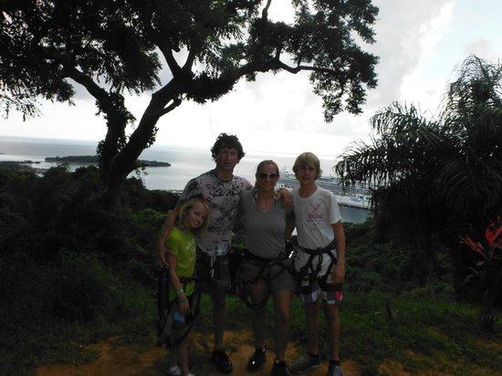Jungle Top Zipline Adventure: Great Day!