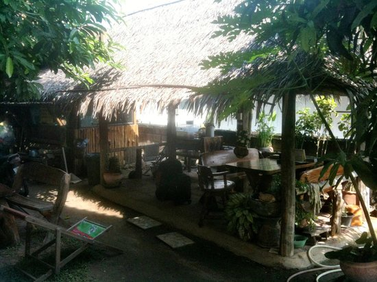 Thai Guest House & Backpacker: Chill-out area, no-one used it
