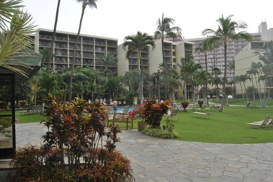Aston Kaanapali Shores: Grounds and pool