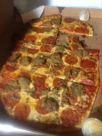 I Fratelli : pepperoni & meatball large pizza