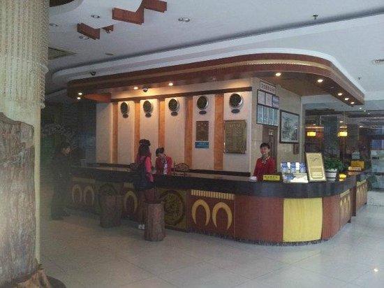 Zhuang Yuan Po Hotel: Reception