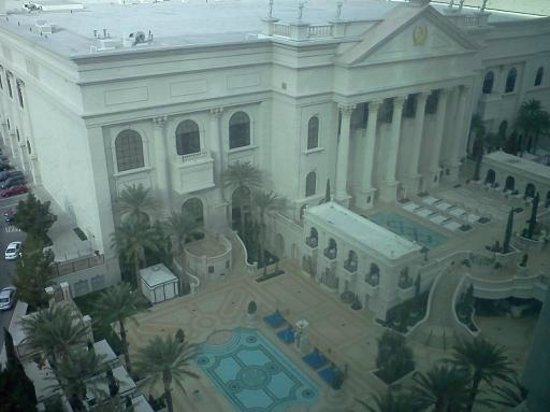 Caesars Palace: Parts of the hotel and the pools 