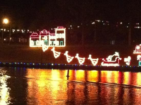 Historic District Shopping: City of Lights Display 2012