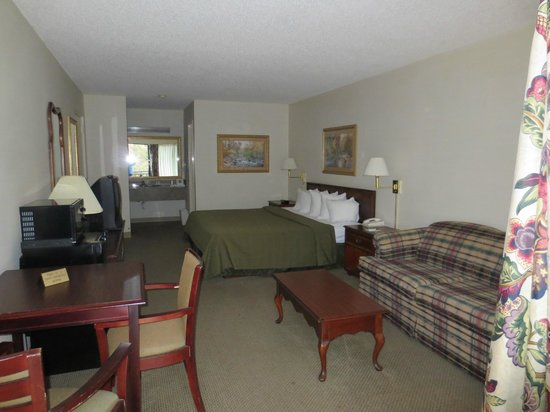 Quality Inn & Suites Mt. Chalet: King Bed