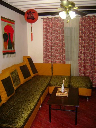 BogeeBogs Bed and Breakfast: Living area