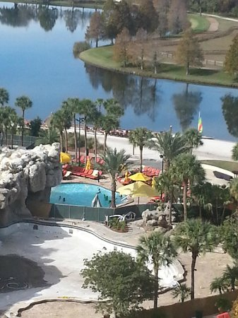 Hyatt Regency Grand Cypress: Pool Area w/ Private Lake
