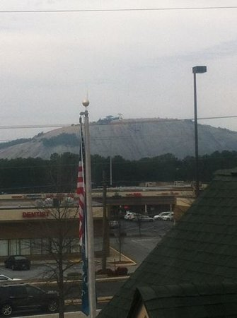 Country Inn & Suites By Carlson, Stone Mountain: view from our room