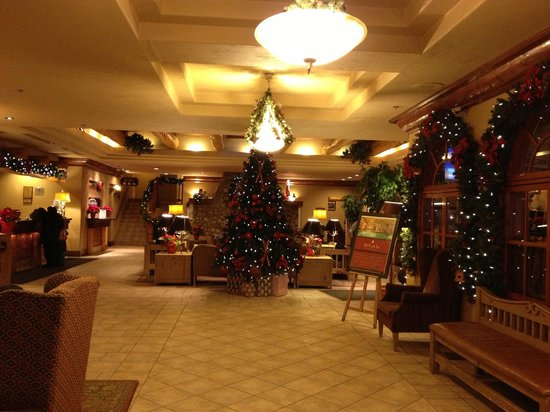 Banff Caribou Lodge & Spa: Christmas Reception