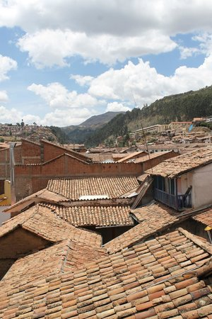 Plaza de Armas Cusco Hotel: Rooftops from the roof