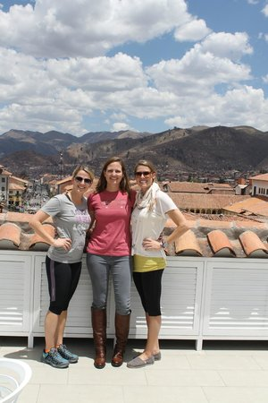 Plaza de Armas Cusco Hotel: On roof