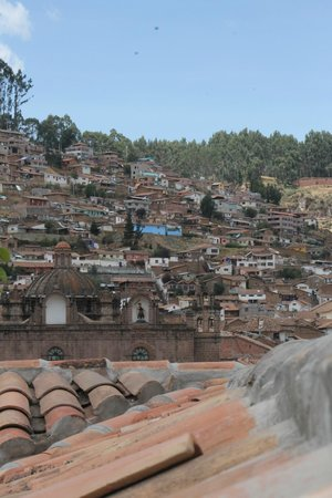 Plaza de Armas Cusco Hotel: View from roof