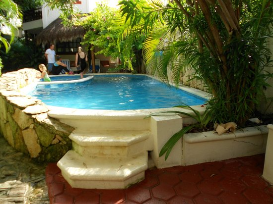 Hotel el Moro: Small pool in the garden