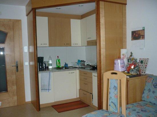 Appartement Hotel Erlhof: L'angolo cottura