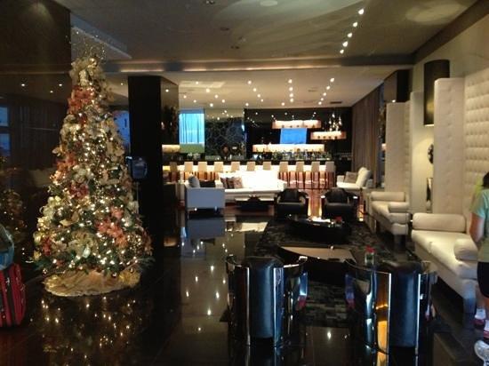 Le Meridien Panama: Le Meridien Lobby at Christmas