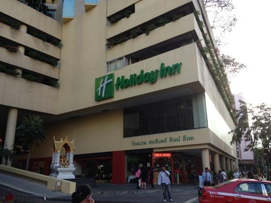 Holiday Inn Bangkok Silom: wejście