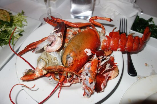 Waterfront Restaurant and Cafe: $50 lobster post dinner!