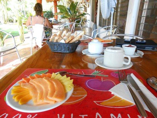 Beso del Viento: Continental Breakfast