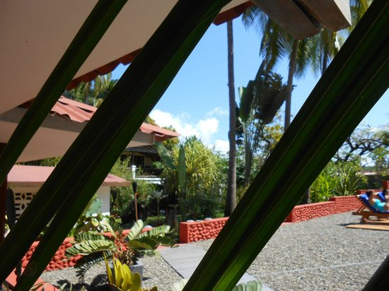 Beso del Viento : View from the verandah to the second building