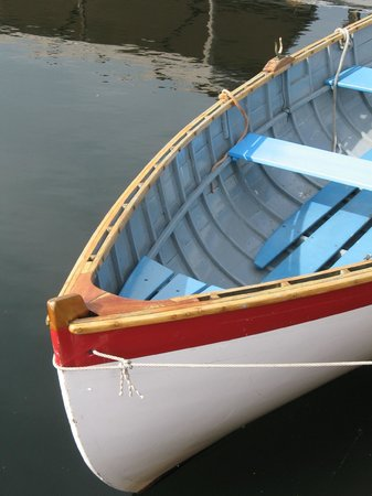 The Center for Wooden Boats: Wooden row boat