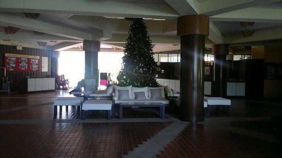 Beach Garden Hotel: Hotel lobby area