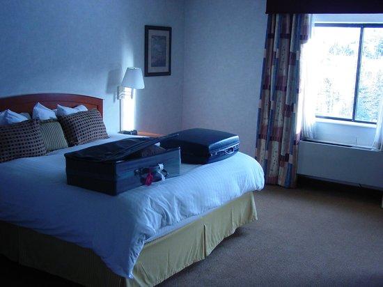 Park City Peaks Hotel: Bedding