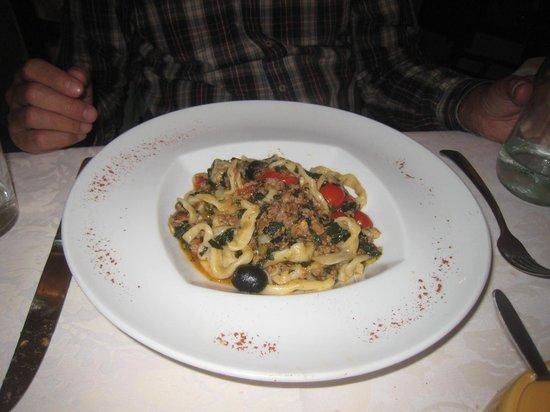 yummy pasta dish - Picture of L'Osteria di Giovanni, Florence ...