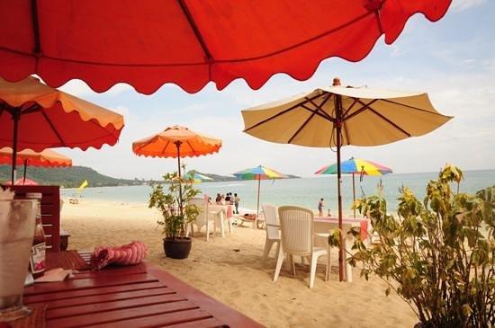 Samui Sense Beach Resort: restaurant de plage du samui sens