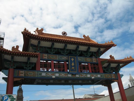 Chinatown International District: Entry gate