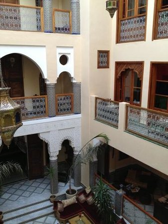 Riad-Boutique Borj Dhab Fès : il patio
