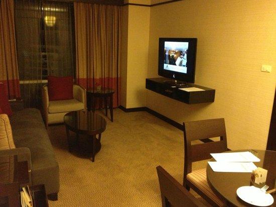 Conrad Bangkok Residences : リビング