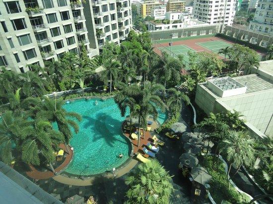 Conrad Bangkok Residences: 部屋からの眺め