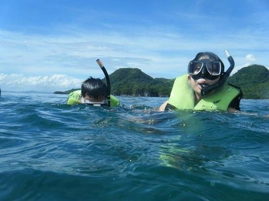 Misibis Bay Resort: snorkeling