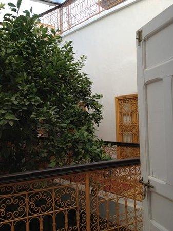 Riad Villa Mouassine : binnenplaats