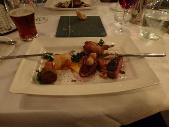 The Dining Room: Main Course