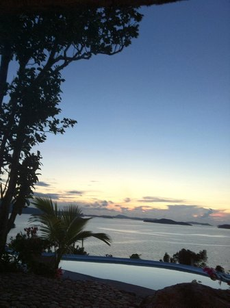 AL FARO Cosmio Hotel Palawan: Aussicht
