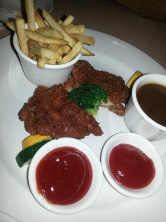 Furama Bukit Bintang: Chicken chop with black pepper sauce