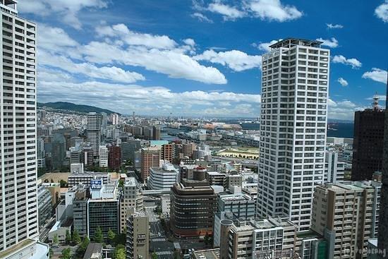 Kobe City Hall (Observation Deck) : 神戸市役所 展望ロビー