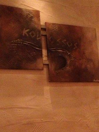 Kolossos Hotel: gezellig interieur