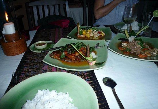 Sala Thai : Main Dishes
