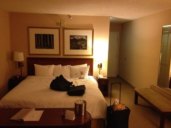 Radisson Hotel Phoenix / Chandler: sleep number bed room 311