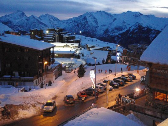 ClubHotel Belle Aurore: A view from the hotel showing proximity to lift system